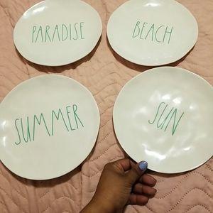 Rae Dunn summer plates